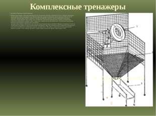 Комплексные тренажеры Тренажер «Подвижная мишень-ловушка». Мишень представляе
