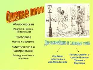 Философская Иешуа Га-Нонри и Понтий Пилат Любовная Мастер и Маргарита Мистиче
