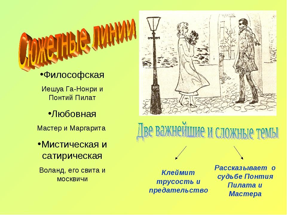Философская Иешуа Га-Нонри и Понтий Пилат Любовная Мастер и Маргарита Мистиче...