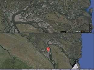Река Лена Задание: Определить исток, направление течения, устье, притоки реки