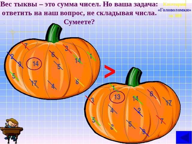 Категория «Термины и …» за 400 а Число 21181315615106 получается, если в неко...