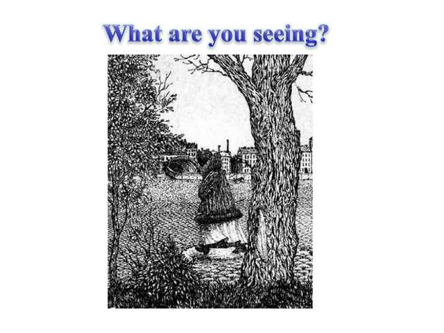 What are you seeing?