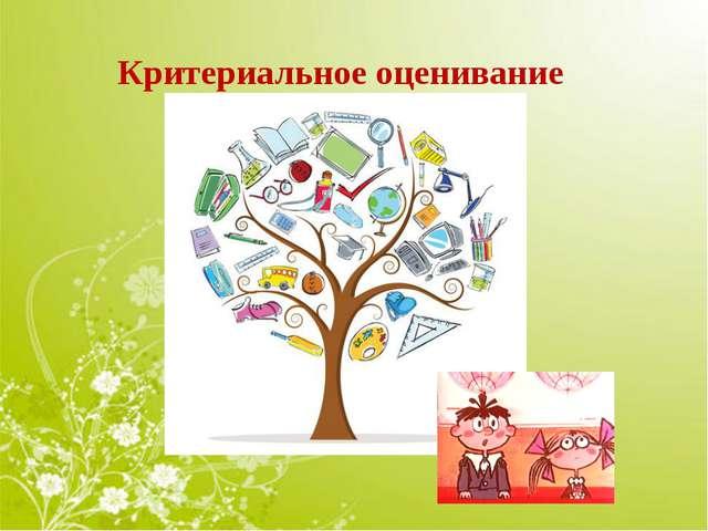 c55a553b7517 «Критериальное оценивание на уроках. Критериальная шкала оценивания  достижений учащихся на уроках в начальной школе»