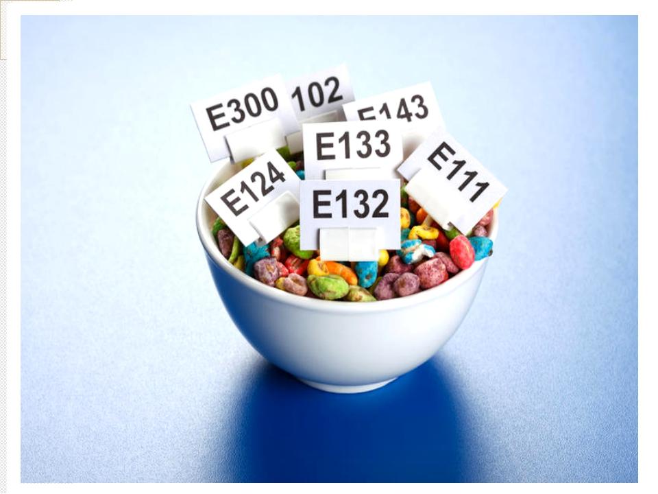 Просмотр содержимого документа материалы к уроку пищевые добавки