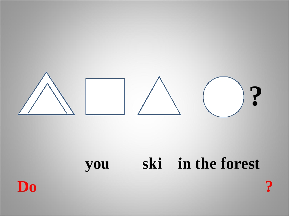 ? you ski in the forest Do ?