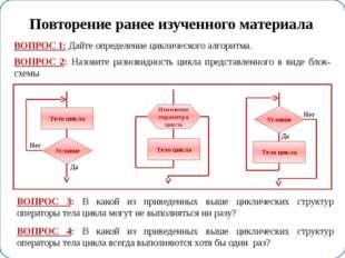 While (цикл с предусловием) Program prim1; Var Tc:integer; Tf:real; Begin Tc