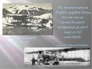 На момент начала Первой мировой войны Россия имела самый большой воздушный ф