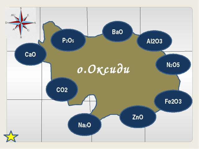 CaO P2O5 BaO Al2O3 N2O5 Fe2O3 ZnO Na2O CO2 о.Оксиди