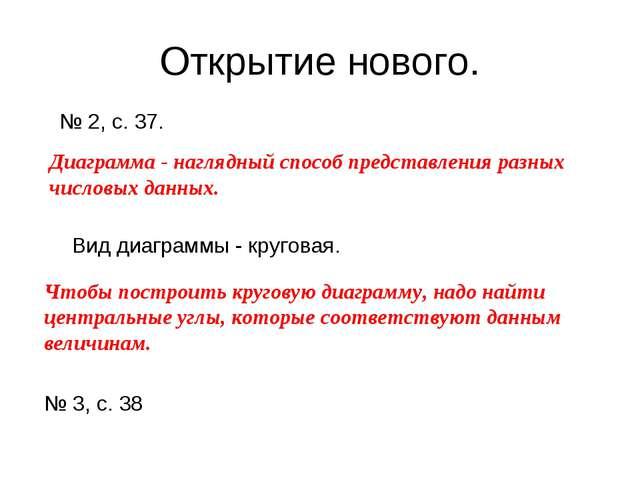 Открытие нового. № 2, с. 37. Диаграмма - наглядный способ представления разны...