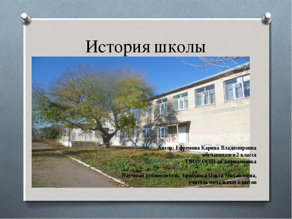 Картинка история школы