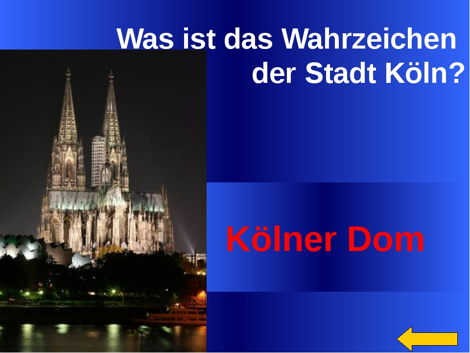 Auf dem Wappen Berlins ist …dargestellt. ein Bär Welcome to Power Jeopardy ©...
