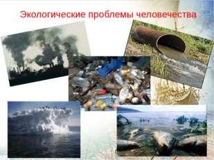 Экологические проблемы человечества