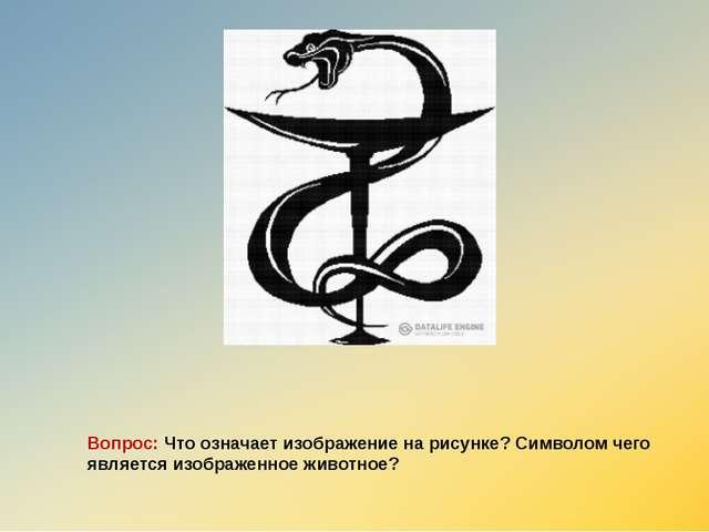 Вопрос: Что означает изображение на рисунке? Символом чего является изображен...