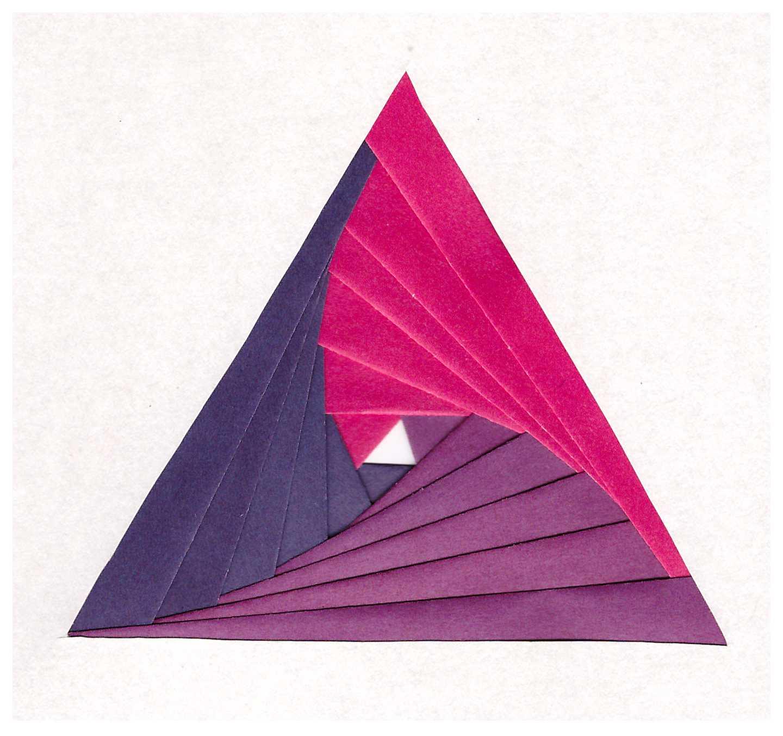 Треугольник цветной