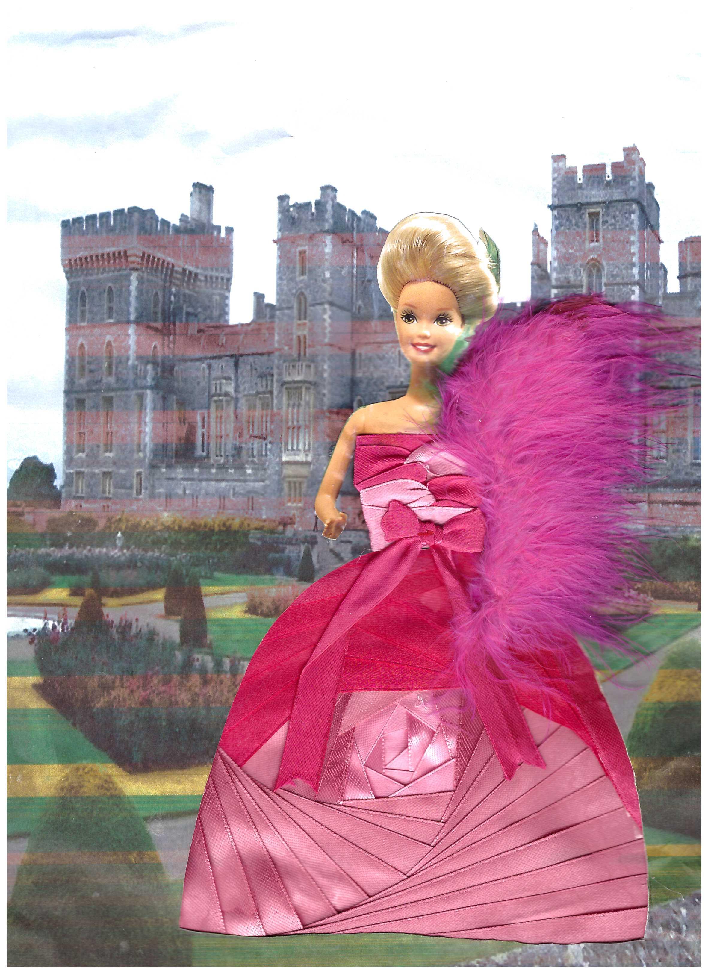 принцусса в розовом