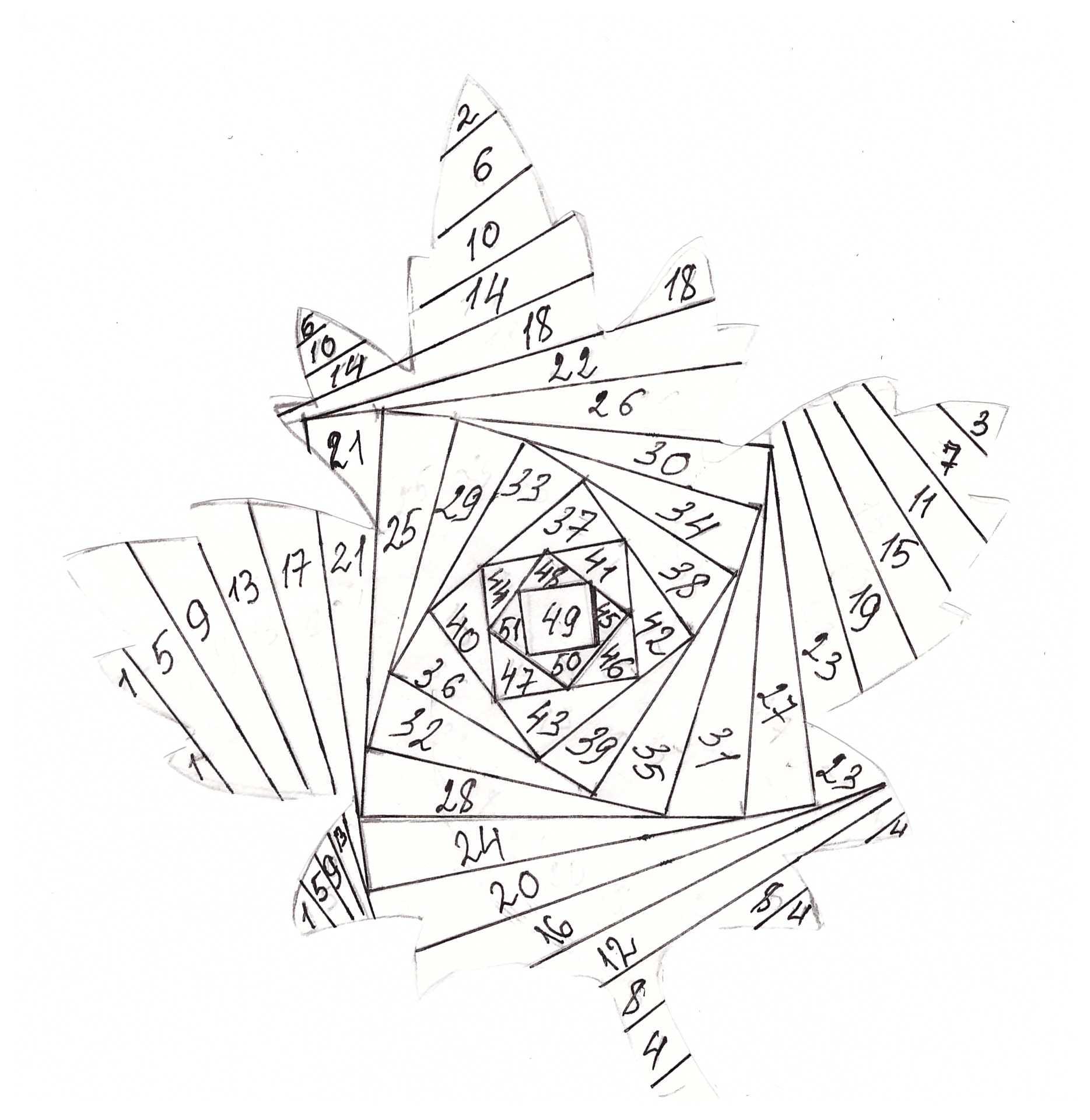 кленовый лист (айрес фолдинг)