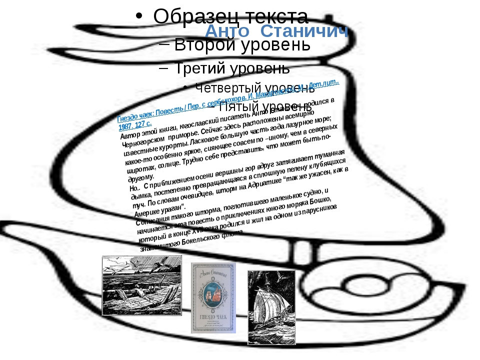 Анто Станичич Гнездо чаек: Повесть / Пер. с сербскохорв. И. Макаровской. М.:...