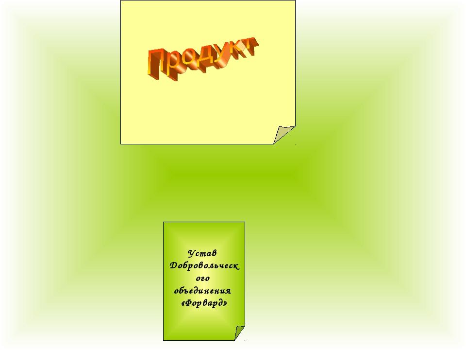 Устав Добровольческого объединения «Форвард»