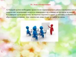 А) Каждой группе необходимо провести исследовательскую работу (экспертизу) по