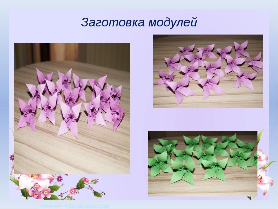 Заготовка модулей Матюшкина А.В. http://nsportal.ru/user/33485 Матюшкина А.В....