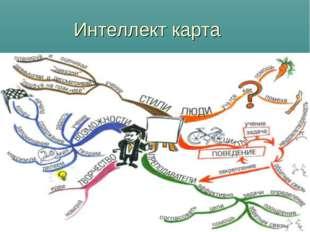 Интеллект карта