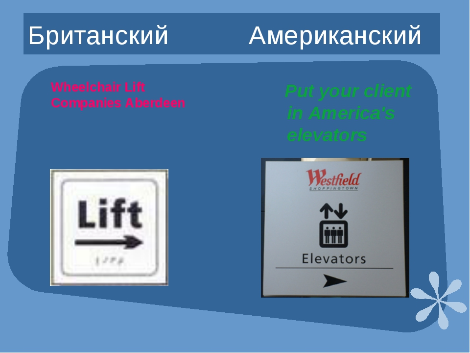 Британский Американский Put your client in America's elevators Wheelchair Lif...