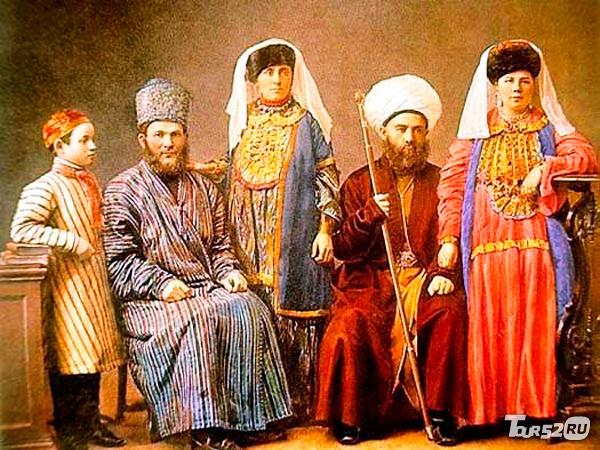 Фото одежда татар 19 в