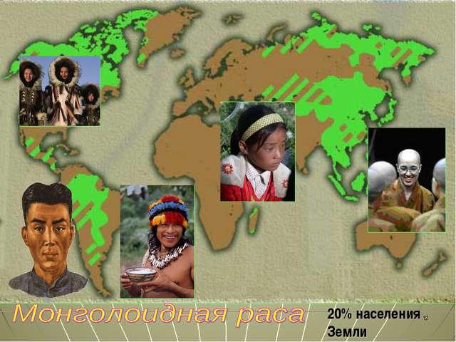 20% населения Земли *