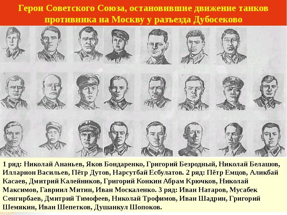 И. Панфилов. Командир 316 стрелковой дивизии.