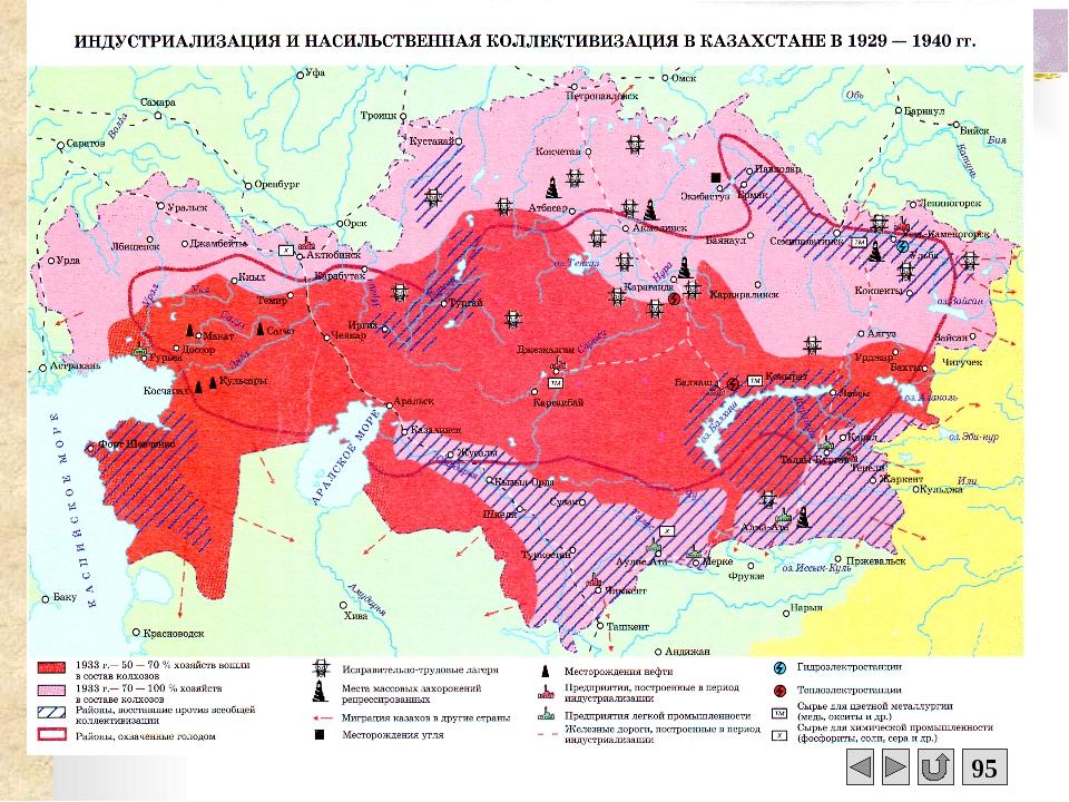 Последствия и итоги коллективизации К 1938 году в основном завершился процес...
