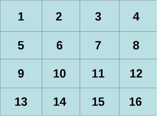 16 15 14 13 12 11 10 9 8 7 6 5 4 3 2 1 1 2 3 4 5 6 7 8 9 10 11 12 13...