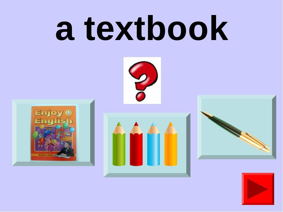 a textbook