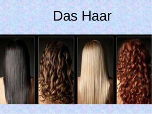 Das Haar