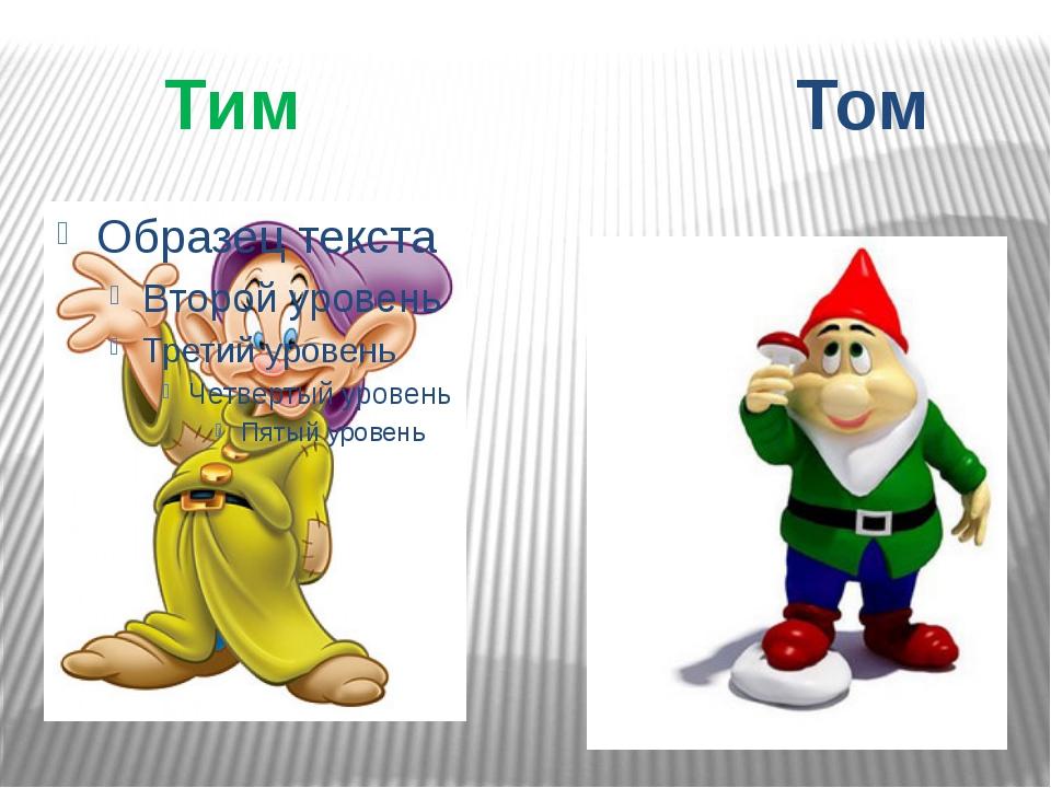 картинка том и тим