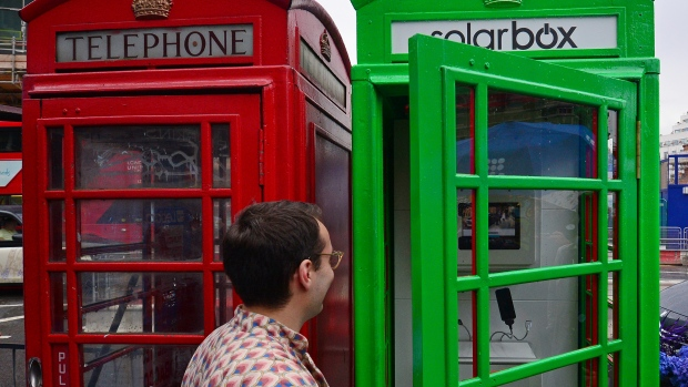 Red phone boxes go green