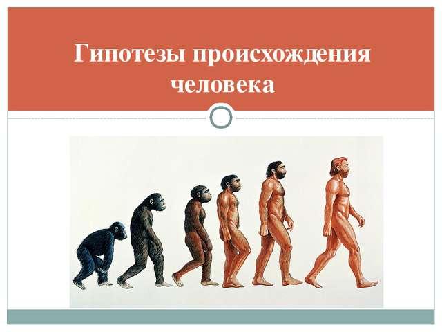 Гипотезы происхождения человека