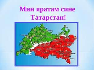 Мин яратам сине Татарстан!