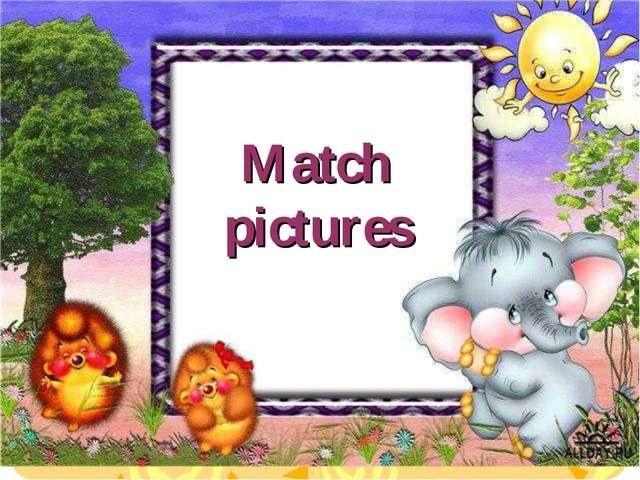 Match pictures