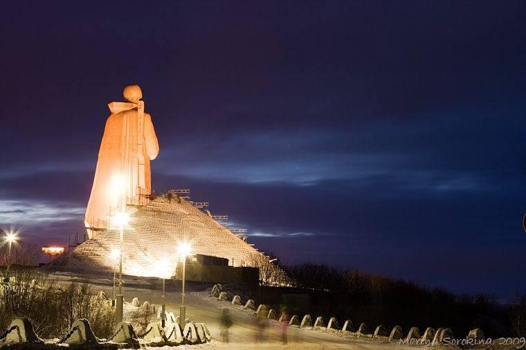 Мурманск - город мой широкоплечий