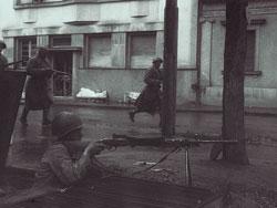 Бой на улицах Белгорода
