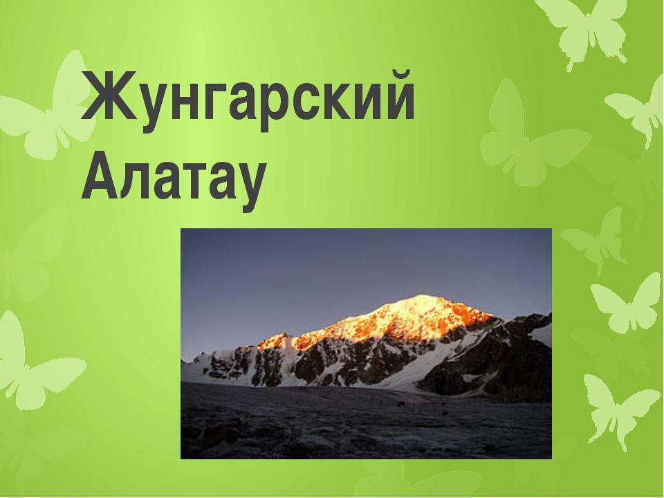 Жунгарский Алатау