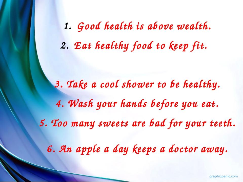 Health is wealth essay for school
