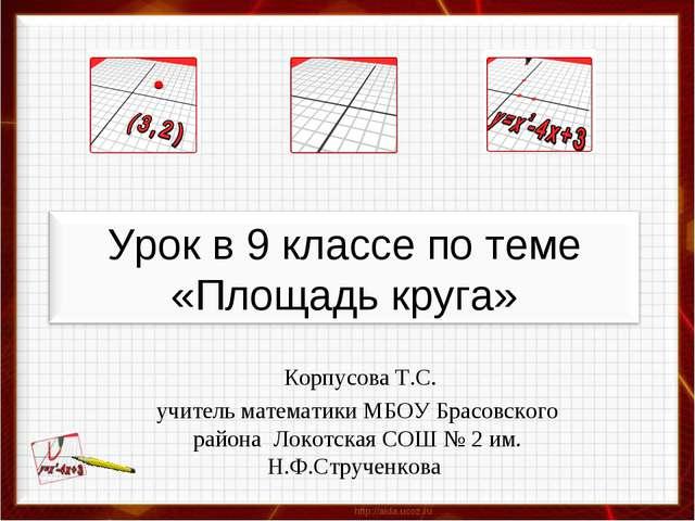 Корпусова Т.С. учитель математики МБОУ Брасовского района Локотская СОШ № 2...