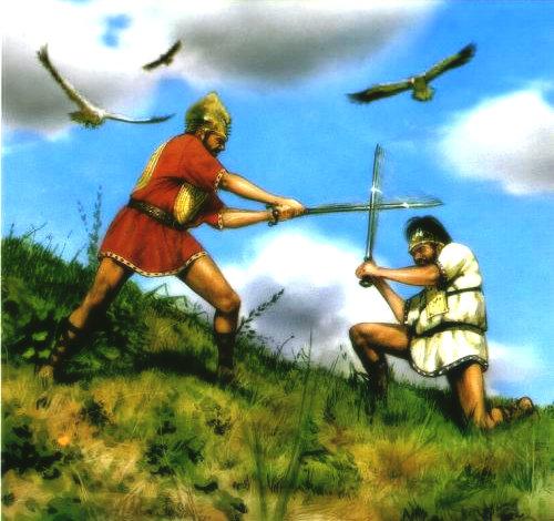 Герои и легенды. . Ромул и Рем. . Основание Рима