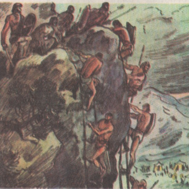 Власти послали трёхты - сячное войско римлян явно недооценив силу и - Фото 14929/4