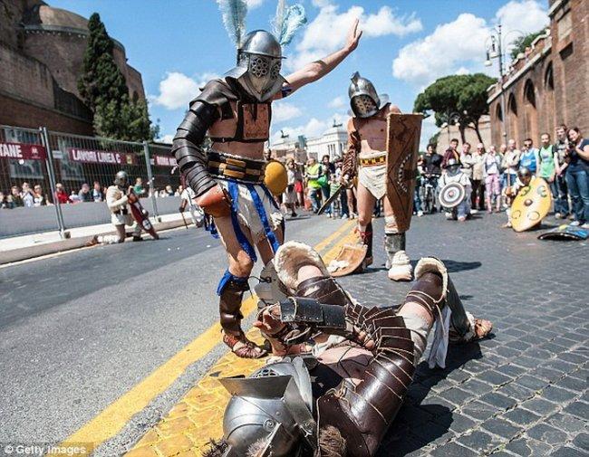 Рим отпраздновал 2766 лет со дня основания