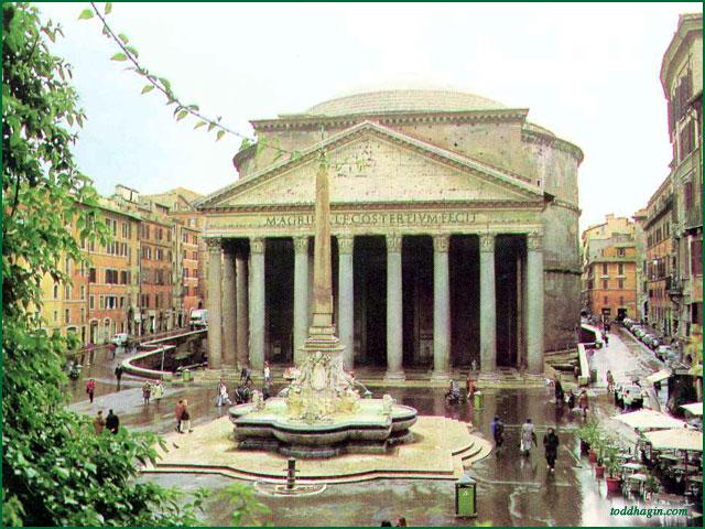 Пантеон, Рим - Древний Рим - Фотогалерея