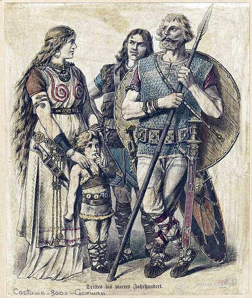 Древние германцы QuickiWiki