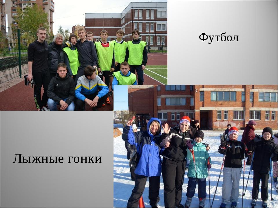 Футбол Лыжные гонки
