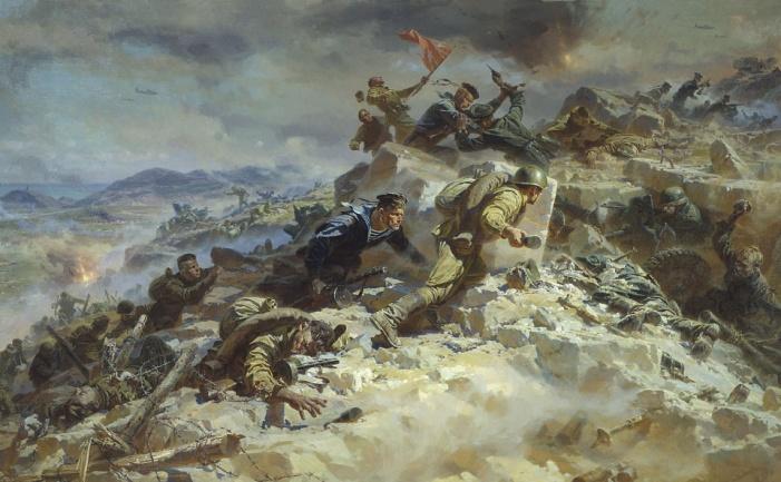 1152x864 руины, дым, война, великая отечественная война, бой картинки на рабочий стол обои фото скачать